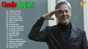 Le Migliori Canzoni Di Claudio Baglioni - Nuova Playlist Di Claudio Baglioni  Dal Vivo - YouTube