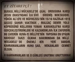Efelik Ruhu - ☾✫ Malgaç Baskını, Yörük Ali Efe ve... | Facebook