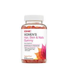 gnc women s hair skin nails gummy