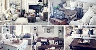 27 rustic farmhouse living room decor