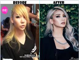 minzy 2ne1 without makeup saubhaya makeup