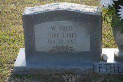 Pvt Wattie Fred Etheridge (1917-1997) - Find A Grave Memorial
