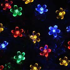 solar string garden lights
