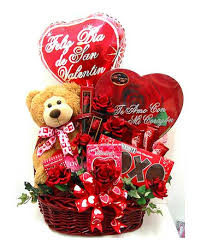 vgb405 te amo spanish valentine basket