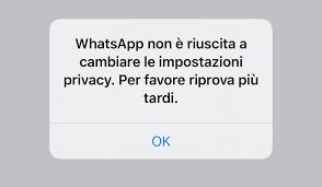 WhatsApp, l'ultimo accesso dei contatti «non disponibile ...