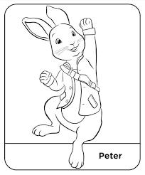 Coloring Pages Peter Rabbit 06 Kleurplaten Konijn En Tekenen