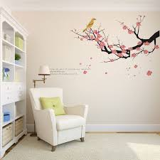 Creative Winter Plum Tree Branches Love Birds Wall Stickers Home Decor Living Room Vinyl Adesivo De Parede Diy Decals Mural Art Stickers Home Decor Bird Wall Stickerwall Sticker Aliexpress