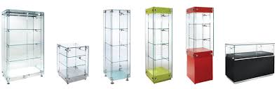 glass display cabinets and cases