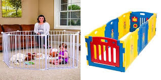 Top 10 Best Baby Fences Reviews In 2020 Completed Buyer S Guides Baby Gate Play Area Baby Gates Baby Safety