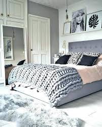 bedrooms pink and grey dark blue