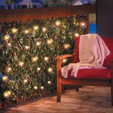 Lighted Expandable Faux Ivy Trellis Small Patio Decor Outdoor Trellis Backyard Privacy