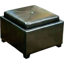 tufted leather coffee table opdate club