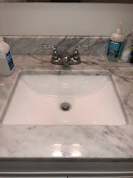 pooling at kitchen and bathroom sink