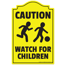 Watch For Children Decal Funny Home Decor Garage Wall Lover Gag Gift Walmart Com Walmart Com