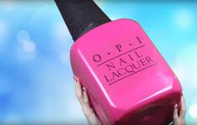 diy giant nail polish bottle craft