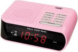 rc827 electronic bedside alarm clock