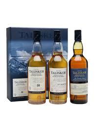 talisker gift pack 3x20cl scotch