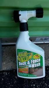 Krud Kutter Deck Fence Wash 32oz 20066328023 Ebay