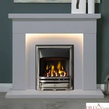inc downlights and equinox gas fire