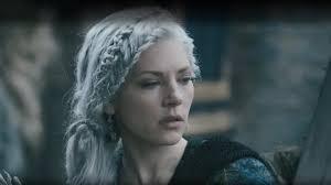 white hair viking braids season 5