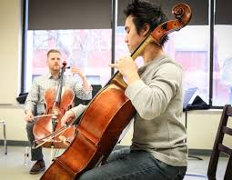 """St. Louis Symphony Orchestra on Twitter: """"Bjorn Ranheim, cello engages with  @UNLincoln students in Master Classes at the @LiedCenter! #slsoTour (PC:  Kira Geiger)… https://t.co/mybD1X1O5F"""""""