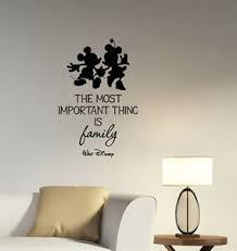 walt disney family inspirational quote wall decal vinyl sticker
