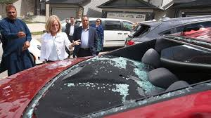 calgarian by severe hail storm