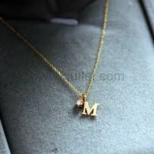 gullei com name initial necklace
