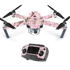Skin Decal Wrap For Dji Mavic Pro Quadcopter Drone Conceal Pink Walmart Com Walmart Com