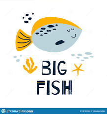 Baby Room Wall Art Cute Poster Children Room With Funny Fish Sea Text Big Fish Baby Print Grey Smiling Fish Vector Stock Vector Illustration Of Smile Fishing 181885968