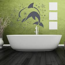 Jumping Dolphin Wall Decal Style And Apply