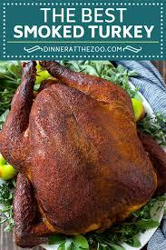 smoked turkey recipe dinner at the zoo