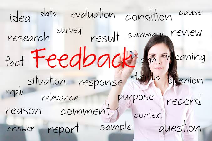 Image result for Receiving feedback""