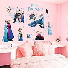 16goodmall Hot Sale Cartoon Moive Queen Elsa Frozen Princess 3d Removable Decal Wall Sticker For Kid S Room Decoration Kyymlltk 92