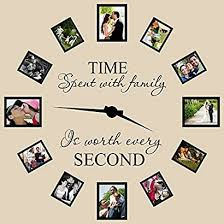Time Spent With Family Is Worth Every Second Wall Decal Quote Home Decor Art Nnzhkwut 38