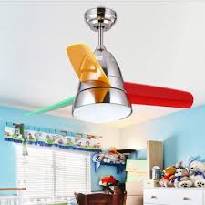 3 Colorful Blade Unique Kids Ceiling Fan In Satin Black Silver 14 18 W Takeluckhome Com