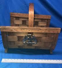 beautiful vintage fireplace log holder