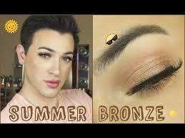 full face summer bronze makeup tutorial