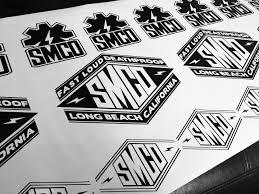 Vinyl Die Cut Decals Suicide Machine Company