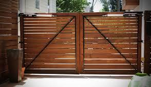 Safari Wood Gates Driveway Fence Design Driveway Gate