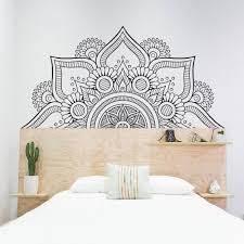 Flower Mandala Wall Decal Kuarki Lifestyle Solutions