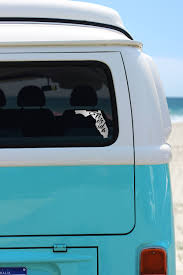 Florida Car Decal Removable Vinyl Car Decals Of Florida Etsy In 2020 Phone Decals Car Decals Vinyl Phone Decal Stickers