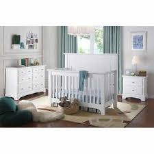 barclay 4 pc white nursery set