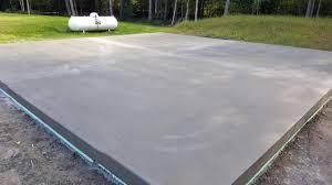 concrete slab for shed procura home