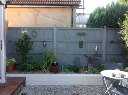 Grey Fence White Painted Wall Garden Fence Paint Patio Garden Design Grey Fences