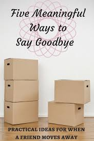 gifts for people moving away
