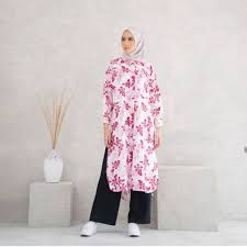 IVA Long Shirt Orchid SM Raia | Shopee Indonesia