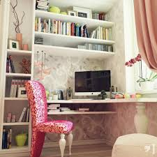 Kids Bedroom Beautiful Teenagers Room Ideas Bild With Modern Corner Desk Und White Bookshelf Und Pink Chaar Und Curtains With Pretty Hintergrundbilder Und Chic Vase With Branches Colourful Kids Room Des For
