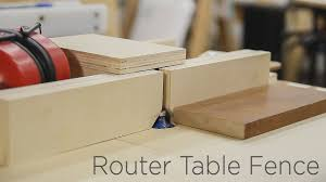 Adjustable Router Table Fence For My Homemade Router Lift 190 Youtube