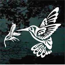 Decorative Hummingbird Car Window Decals Stickers Decal Junky